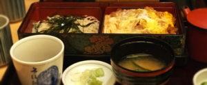 御中食(カツ丼)